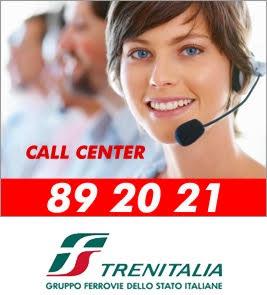 Numerp Call Center Trenitalia 89 20 21