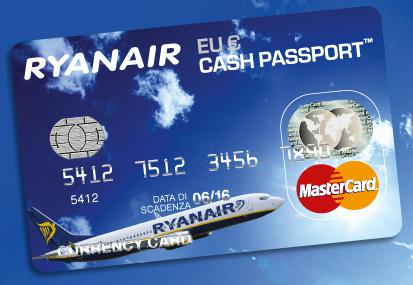 Ryanair Cash Passport Italia